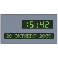 Табло часы-календарь ТНК-2