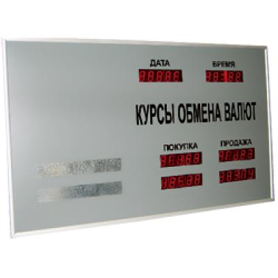 Табло курсов валют Kobell CERB-4