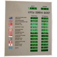 Табло курсов валют Kobell TEK-12