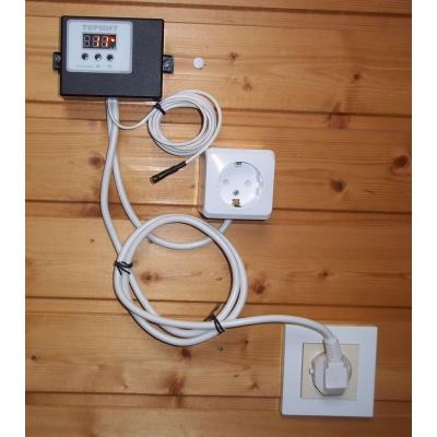Терморегулятор-датчик электронный Термит 8К