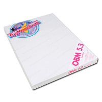 Термотрансферная бумага MagicTouch OBM 5.3 A4, 50 листов, темные и цветные ткани для лазерного принтера