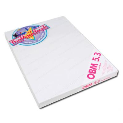 Термотрансферная бумага MagicTouch OBM 5.3 A4, 50 листов, темные и цветные ткани
