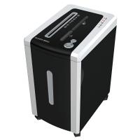 Уничтожитель бумаги (шредер) Bulros 880C серебристый корпус, черная дверца и верх