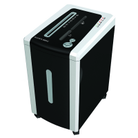 Уничтожитель бумаги (шредер) Bulros 886C серебристый корпус, черная дверца и верх