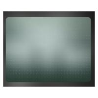 Защитный коврик напольный Clear Style 1651, 910х1210 мм