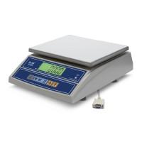 """Фасовочные настольные весы M-ER 326 AFL-15.2 """"Cube"""" c RS-232 LCD"""