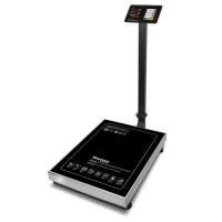 """Торговые напольные весы M-ER 333 ACLP-600.200 """"TRADER"""" с расч. стоимости LED"""