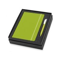 Подарочный набор Uma Vision с ручкой и блокнотом А5, зеленый