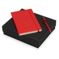 Подарочный набор Moleskine Amelie с блокнотом А5 Soft и ручкой, красный