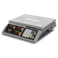 """Торговые настольные весы M-ER 326 AC-32.5 """"Slim"""" LED Белые"""