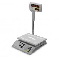 """Торговые настольные весы M-ER 326 ACPX-15.2 """"Slim'X"""" LED Белые"""
