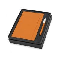 Подарочный набор Uma Vision с ручкой и блокнотом А5, оранжевый
