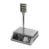 """Торговые настольные весы M-ER 327 ACP-32.5 """"Ceed"""" LCD Белые"""