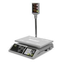 """Торговые настольные весы M-ER 326 ACP-32.5 """"Slim"""" LED Белые"""