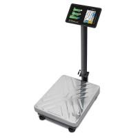 """Торговые напольные весы M-ER 333 ACP-300.100 """"TRADER"""" с расч. стоимости LCD"""