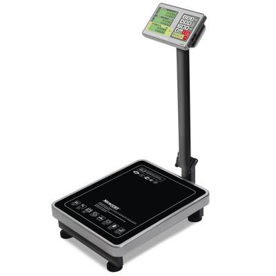 """Торговые напольные весы M-ER 335 ACLP-150.20 """"TURTLE"""" с расчетом стоимости товара LCD"""