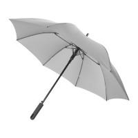 Противоштормовой зонт Noon 23 полуавтомат, серый/черный