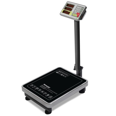 """Торговые напольные весы M-ER 335 ACLP-150.20 """"TURTLE"""" с расчетом стоимости товара LED"""