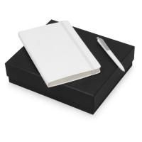 Подарочный набор Moleskine Picasso с блокнотом А5 и ручкой, белый