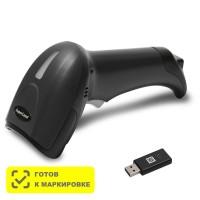 Беспроводной сканер штрих-кода Mertech CL-2300 BLE Dongle P2D USB Black