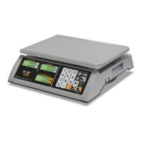"""Торговые настольные весы M-ER 327 AC-15.2 """"Ceed"""" LCD Белые"""