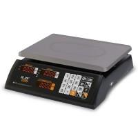 """Торговые настольные весы M-ER 327 AC-15.2 """"Ceed"""" LED Черные"""