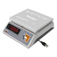 """Фасовочные настольные весы M-ER 326 AFU-6.01 """"Post II"""" LED USB-COM"""