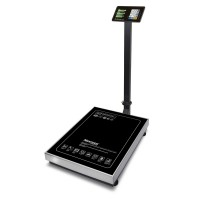 """Торговые напольные весы M-ER 333 ACLP-300.50/100 """"TRADER"""" с расч. стоимости LCD"""