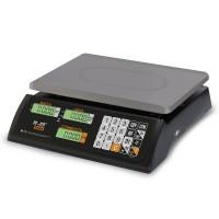 """Торговые настольные весы M-ER 327 AC-32.5 """"Ceed"""" LCD Черные"""