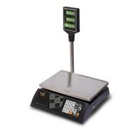 """Торговые настольные весы M-ER 327 ACP-15.2 """"Ceed"""" LCD Черные"""