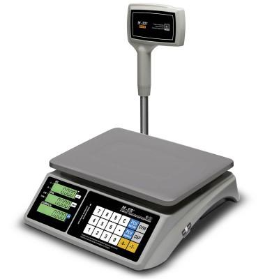 """Торговые настольные весы M-ER 328 ACPX """"TOUCH-M"""" LCD RS232 и USB"""