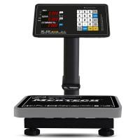Торговые напольные весы M-ER 333 ACPU-60.20 с расч. стоимости LED
