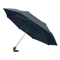 Зонт складной Oliviero, механический 21,5, синий