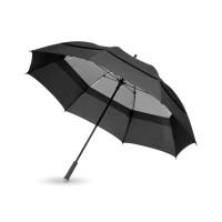 Зонт трость Cardiff, механический 30, черный